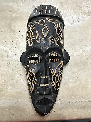 African Mask. Wooden.