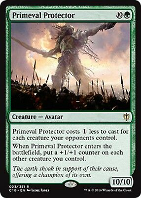 Magic The Gathering Commander 2016 Primeval Protector x1