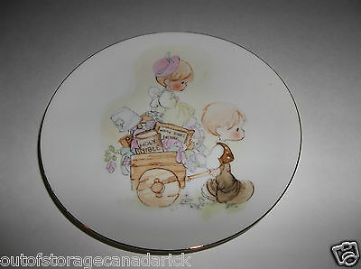 1980 Precious Moments Home Sweet Home Holy Bible Collector's Plate