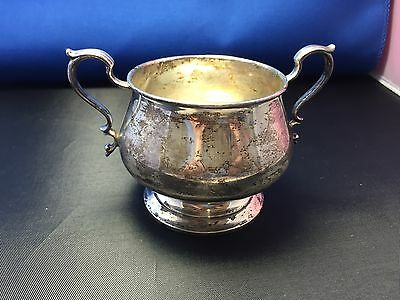 Vintage Tiffany & Co Makers Sterling Silver Sugar  Bowl #19599 (1919 Pattern)
