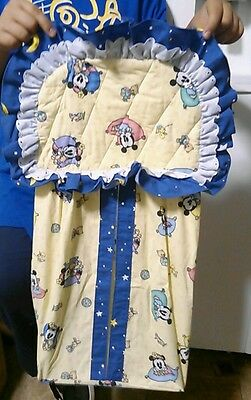 Vintage Baby Mickey Co. Minnie Mouse Diaper Stacker 1996 Disney Babies Neutral