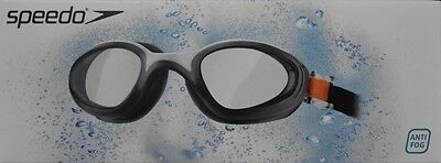 Speedo Adults Swimming Goggles-UV protection-Anti-Fog-wide vision-Speed Fit