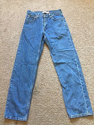 GOOD USED CONDITION Men's LEVI'S Jeans Size 30 X 32 RELAXED FIT #550