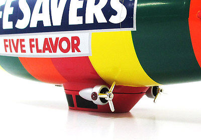 Liberty classics limited Edition Collectible Blimp Replica coin bank LIFESAVERS