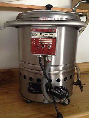 Cecilware Fry-Saver F-60 Restaurant Cooking Oil/Grease Filtration System