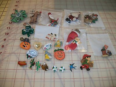 Vintage Lot of Children's Lapel Pins(all occasions)
