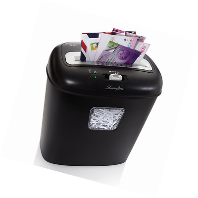 Swingline Paper Shredder, 12 Sheets, Super Cross-Cut, Junk Mail Shredder, 1 User