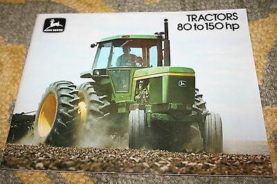 John Deere 4030 4230 4430 4630 Sound Idea Tractors 80 to 150 HP Brochure 1976!!