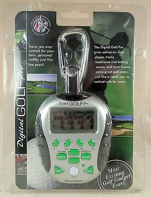NEW, Excalibur Electronics Digital Golf Pro Model 468-CS-RS