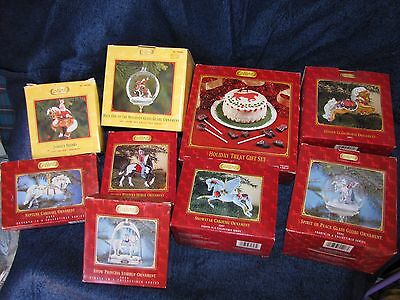 BREYER ORNAMENTS LOT OF 9  new in original boxes