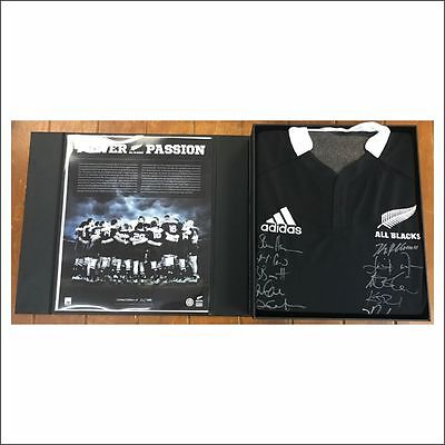 All Blacks 2012 Limited Edition signed jersey