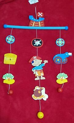 Wooden Baby Mobile for Cot/ Crib/ Nursery Decor+Baby Development+Newborn gift