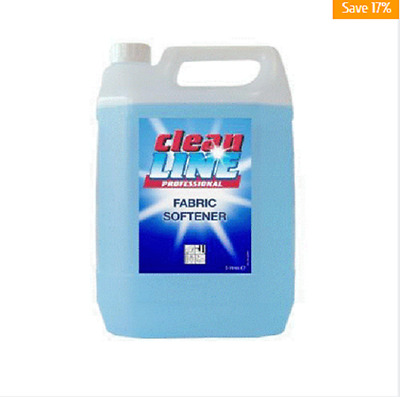 Cleanline Fabric Softener conditioner nice fragrance with anti static agents