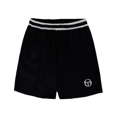 Men's Tennis Short -Sergio Tacchini Tennis Master Short, Blue/White - Size Large