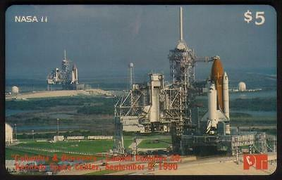 NASA Space Themes #1-11: (Short Set of 11 x $5. Phone Cards) USED Phone Card