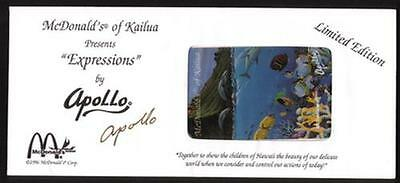 McDonald's of Kailua: Apollo Artwork 'Expressions' In Signed Envelope Phone Card
