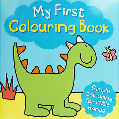 My First Colouring Book - Dinosaur by i-Read (Paperback), Children's Books, New