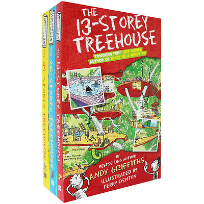 The Storey Treehouse Collection - 3 Books, Children's Books, Brand New