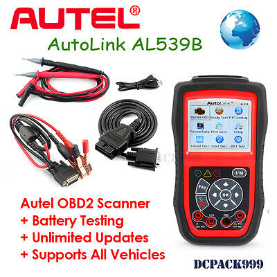 Autel Autolink Al539B Code Reader & Electrical Test Diagnostic Tool New