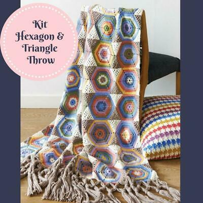 Hexagon & Triangle Throw Kit