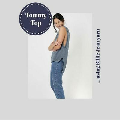 NEW Tommy Top Wool and the Gang - Knitting, Crochet, Sewing, Patterns
