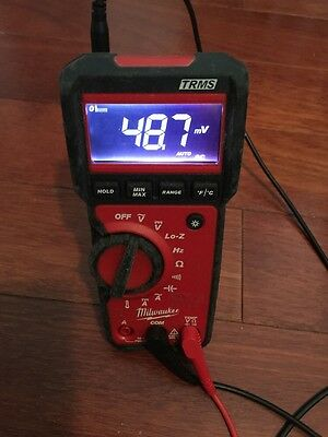 Milwaukee 2217-20 600V Multi-Measuring Accurate Reading True RMS Multimeter