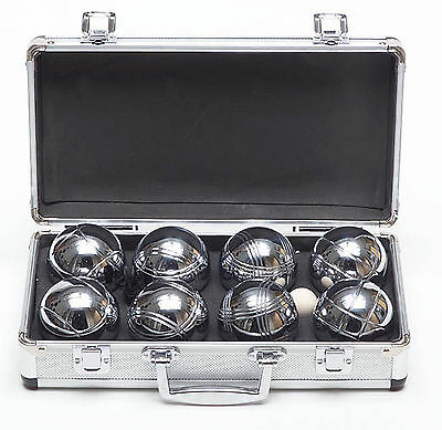 Boules in Metal Case - Family Backyard Throwing Game