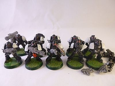 Warhammer 40k Space Marines Black Templars Raven Guard Tactical squad