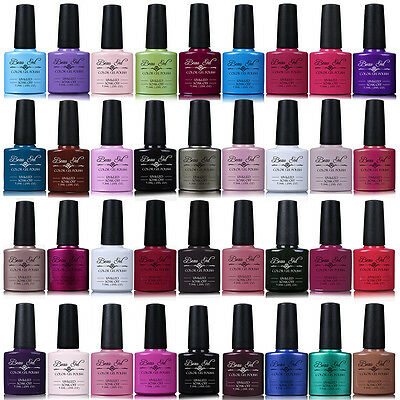 Beau Gel Lot de 6 Couleurs UV LED Gel Manucure Vernis Semi Permanent 7.3ml