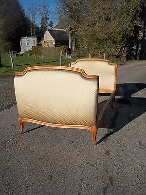 Antique French Beautiful Louis Xv Revival Daybed/single Bed Early Example