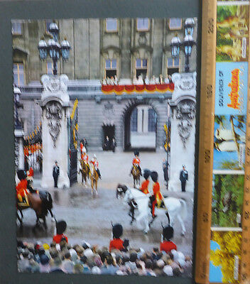 Vintage British Royalty Jumbo Postcard - Trooping Of Colour Ceremony
