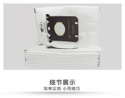 10 pieces Vacuum Dust Cleaner Bag for Electrolux Vacuum Cleaner filter S-BAG