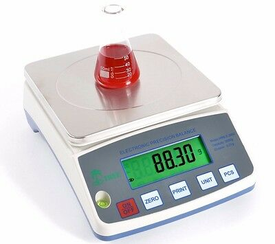 3000g / 0.1g Analytical Lab Balance Hrb3001 Scale Electronic Density Incl Vat