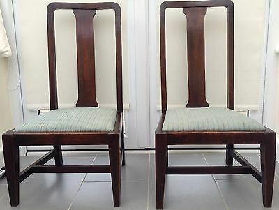 A Pair Of Antique  Nursing / Side Chairs