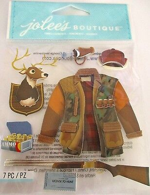 JOLEE'S BOUTIQUE HUNTING Season Hunt Scrapbook Craft Stickers Embellishment