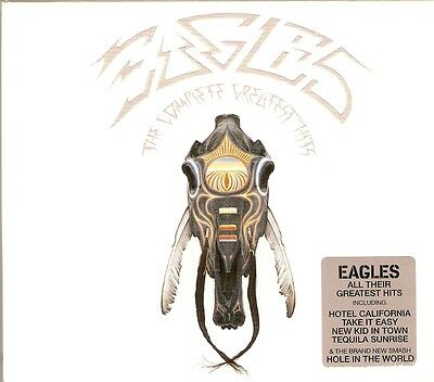 Eagles - The Complete Greatest Hits - Deluxe Slipcase & Booklet 2CD NEW/SEALED