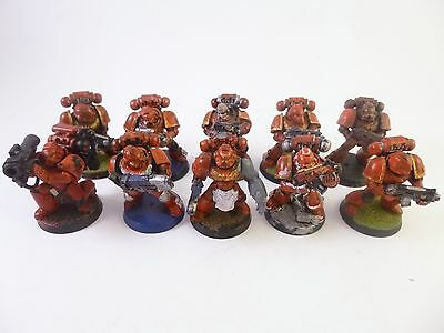 Warhammer 40k Space Marines Blood Angels Tactical Squad