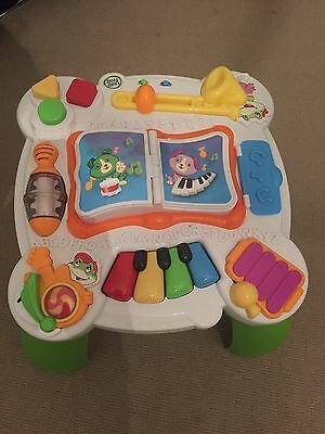 Leap Frog Learn And Groove Musical Activity Table In Excellent Condition