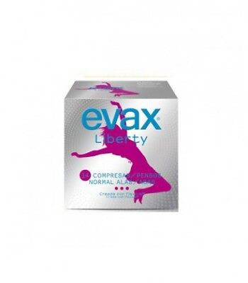 Evax Compresas Tocologicas Liberty Normal Con Alas 14 Uds
