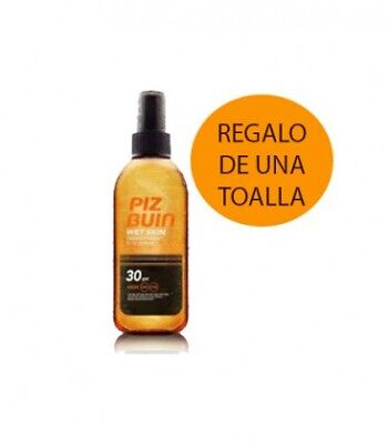 Piz Buin Wet Skin Spf30 Transparent Spray 150Ml