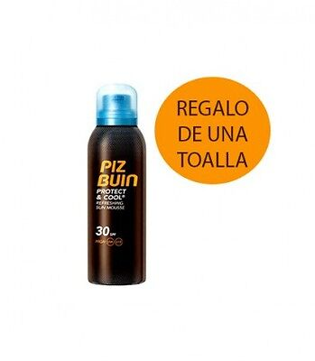 Piz Buin Protect&cool Mousse Solar Spf30 150 Ml