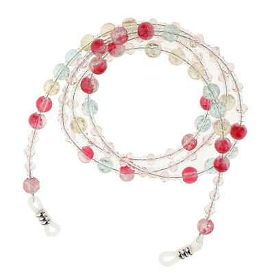 Beaded Eyeglass Holder Sunglasses Necklace Cord Lanyard Band for Women Lady