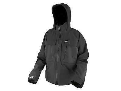 NEW! Scierra C&R Wading Jacket S-XXL / gris / Resistente al agua, transpirable
