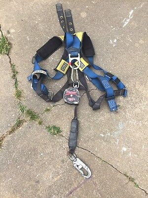 Protecta AD111BR Rebel 11' Self Retracting Web Lifeline Fall Arrest Harness Sala