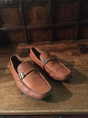Tod's Leather Driving Shoe Men's Size 8.5 M
