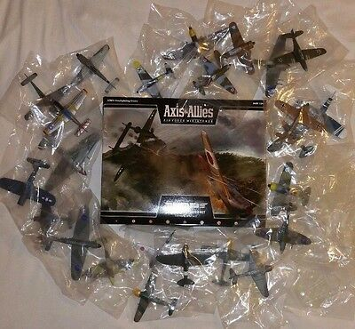 Axis & Allies - Bandits High FULL SET 31!  Unopened Starter + 25 Booster Planes!
