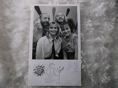 How Dare You Cheryl Baker  Signed Vintage Black White  Photo