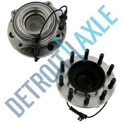 Front Wheel Bearing Hub Set for 2005-2010 Ford F-450 F-550 Super Duty - 2WD