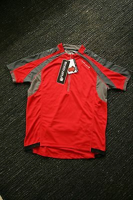Xl Endura Hummvee Short Sleeved Jersey In Red