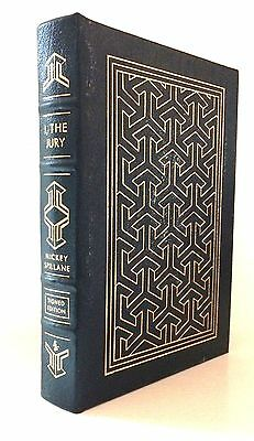 Easton Press. I, THE JURY by Mickey Spillane. Leather. SIGNED with COA